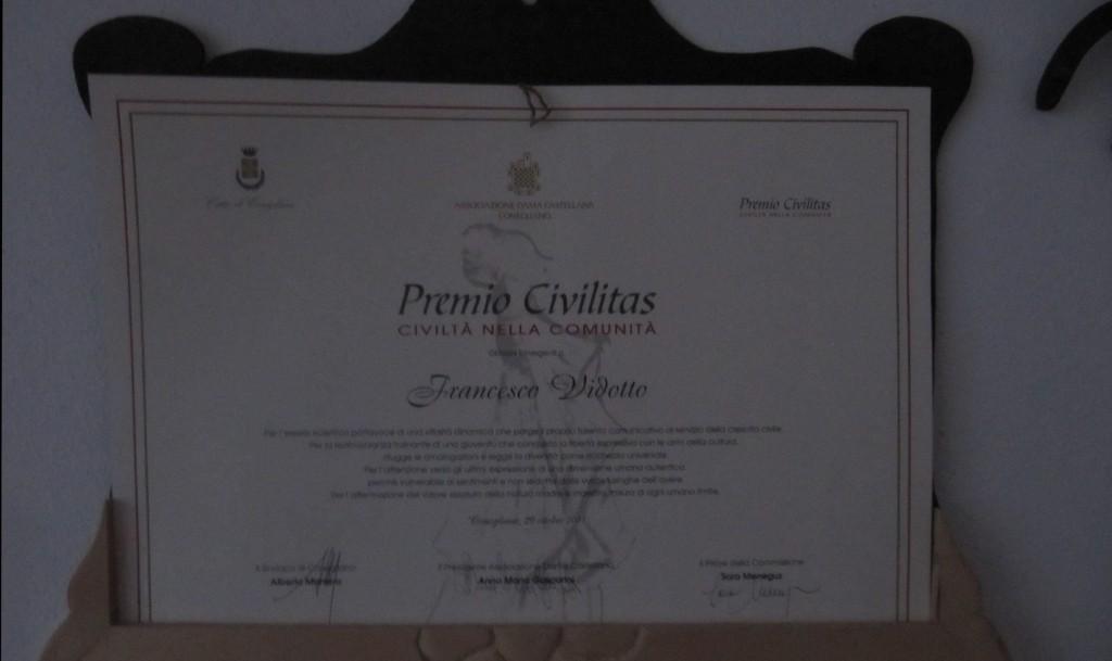 Premio Civilitas 2011