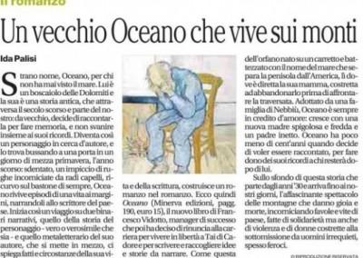 il Mattino - agosto 2014 - Oceano di Francesco Vidotto