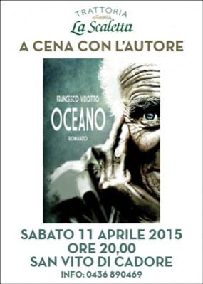 Cena con l'autore presso La Scaletta – San Vito di Cadore